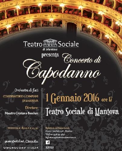 Concerto di Capodanno a Mantova Foto