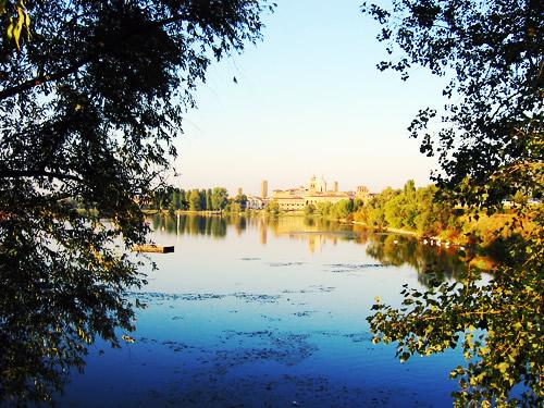 Laghi e fiumi di Mantova, il fiume Mincio, il lago Paiolo